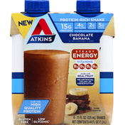 Atkins Shakes, Chocolate Banana