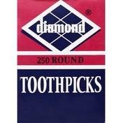 Diamond Toothpicks, Round
