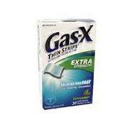 Gas-x 62.5 Simethicone Extra Strength Thin Strips, Peppermint
