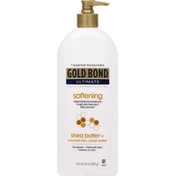 Gold Bond Skin Therapy Lotion, Softening, Shea Butter + Coconut Oil & Cocoa Butter