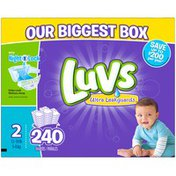 Luvs Ultra Leakguards Diapers Size 2 240 count Diapers