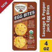 Organic Valley Sausage and Pepper Jack Organic Egg Bites