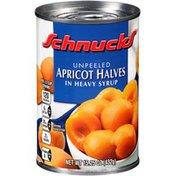 Schnucks in Heavy Syrup Apricot Halves