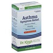 King Bio Asthma Symptom Relief, Box