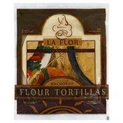 La Flor Flour Tortillas, Uncooked