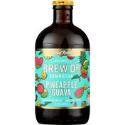 Brew Dr. Kombucha Kombucha, Organic, Pineapple Guava