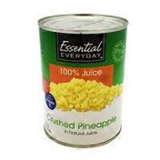 Essential Everyday Crushed Pineapple In 100% Juice