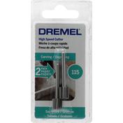 Dremel Cutter, High Speed, 115, 2 Pack