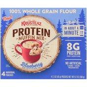 Krusteaz Blueberry Protein Muffin Mix