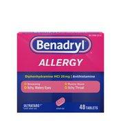 Benadryl Allergy Ultratabs Tablets