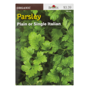 Burpee Organic Parsley Plain or Single Italian