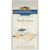 Ghirardelli Chocolate Sublime White Vanilla Dream Chocolate
