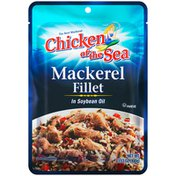 Chicken of the Sea Mackerel in Soybean Oil