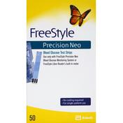 FreeStyle Test Strips, Blood Glucose