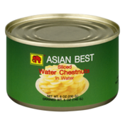 Asian Best Water Chestnuts In Water Sliced