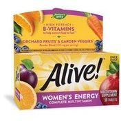 Nature's Way Alive! Women's Energy Multivitamin
