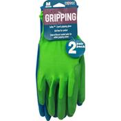 Midwest Gripping Glove, Medium, 2 Pair Pack