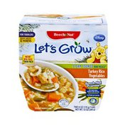 Beech-Nut Beech Nut Let's Grow Turkey Rice Vegetables Steam Cooked Mini Meals for Toddlers  - 2CT