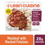 LEAN CUISINE Features Meatloaf with Mashed Potatoes Frozen Meal