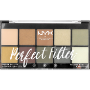 NYX Professional Makeup Eyeshadow Palette, Olive You PFSP03