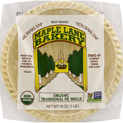 Maple Lane Bakery Pie Shells, Organic, Traditional, 9 Inch