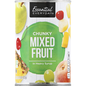 Essential Everyday Mixed Fruit, Chunky, in Heavy Syrup