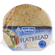Kontos Greek Lifestyle Flatbread - 4 CT