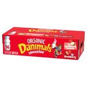 Danimals Organic Strawberry & Strawberry Banana Variety Pack Smoothies