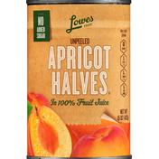 Lowes Foods Apricot Halves, Unpeeled