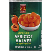 Sunny Select Apricot Halves in Heavy Syrup, Unpeeled