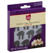 Cake Mate Candy Cake Decorations, Black Cats