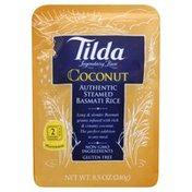 Tilda Rice, Authenttic Steamed Basmati, Coconut