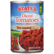 Stater Bros Fire Roasted With Seasonings Diced Tomatoes
