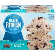 Blue Ribbon Classics Cookies and Cream Ice Cream