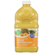 Food Club 100% Unsweetened Orange Pineapple Juice From Concentrate With Added Ingredients