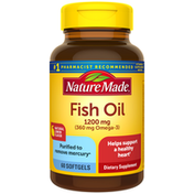 Nature Made Fish Oil 1200 mg with Lemon Essence