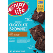 Enjoy Life Foods Classic Chocolate Brownie Mix With Teff Flour