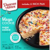Duncan Hines Pan Cookie Mix, Sugar Cookie, Mega Cookie