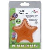 Nova Hand Exerciser, Exercise Squeeze Star, Firm