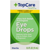TopCare Ultra Itch Relief Astringent Eye Drops