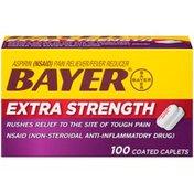 Bayer Extra Strength Aspirin 500mg Coated Caplets Pain Reliever/Fever Reducer
