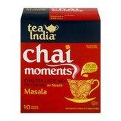Tea India Chai Moments Chai Tea Latte Mix Masala - 10 CT