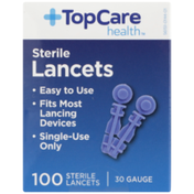 TopCare 30 Gauge Sterile Lancets