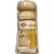 Hannaford Sesame Bagels