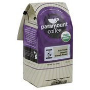 Paramount Farms Coffee, Ground, Medium Roast, Fair Trade Organic French Roast