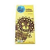Theo Congo Coffee & Cream Milk Chocolate, 45% Cacao, Organic