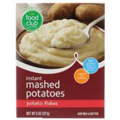 Food Club Potato Flakes Instant Mashed Potatoes