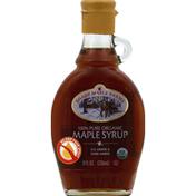 Shady Maple Farms Maple Syrup, Organic, 100% Pure, Dark Amber