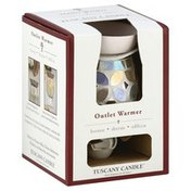 Tuscany Candle Outlet Warmer, Glass Mosaic Outlet