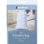 Whitmor Laundry Bag, Mesh, Azure